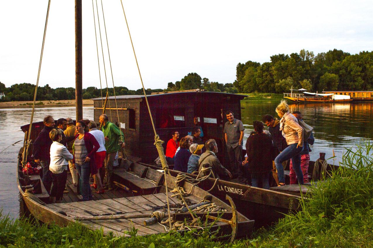 bateaux cpie Touraine-val de Loire